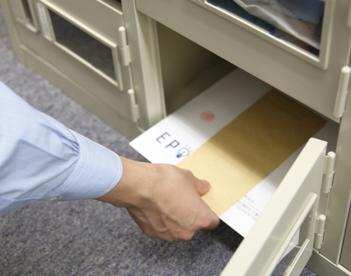 郵便物受取も可能なシェアオフィス