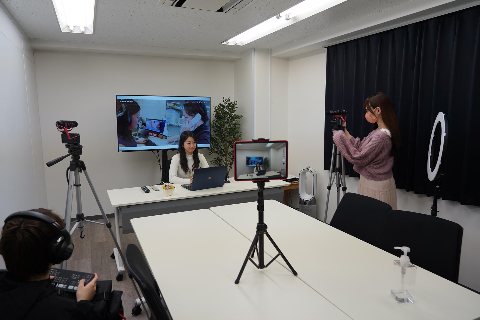 オプションプラン:動画制作サービス